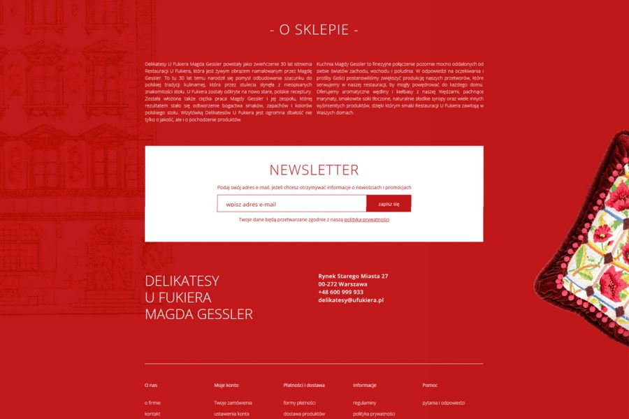 Delikatesy u Fukiera - Magda Gessler